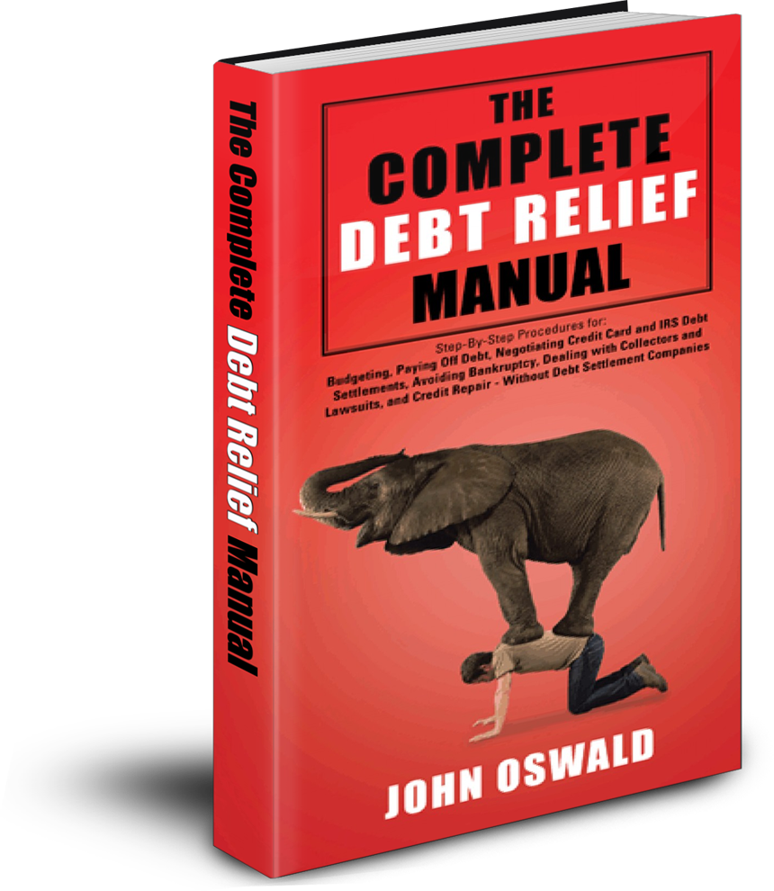 Book Cover - The Complete Debt Relief Manual